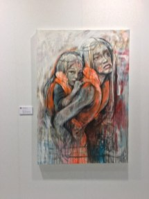 Artiste Herakut Galerie Parisienne Math Goth - Stand D203