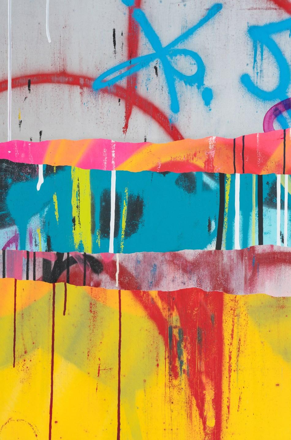 TILT - Layers 20 - 120 x 195 cm - mixed technic on canvas - 2017