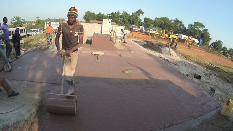 Construction du Skatepark ©RPO