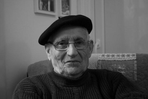 Jean-Louis Soulas, 90 ans, Habitant de Baron, Swed Oner, 2018 ©Swed Oner