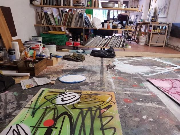 Dans l'atelier ©Streep