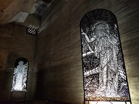 La Cathédrale, nom donné à la salle investie par les Monkey Birds © Streep