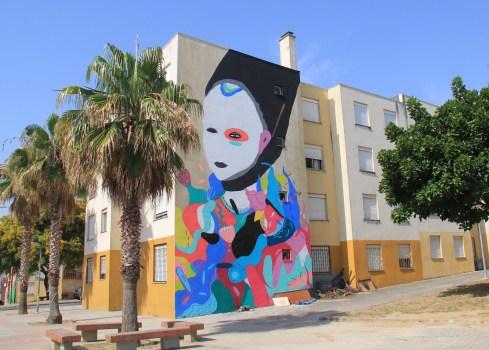 Tarsila Schubert, Lourès Arte Publica, Portugal, 2016 ©Streep