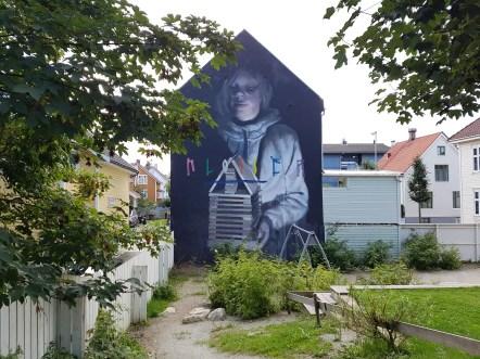 Axel Void, Nuart Festival, Stavanger, Norvège ©Streep