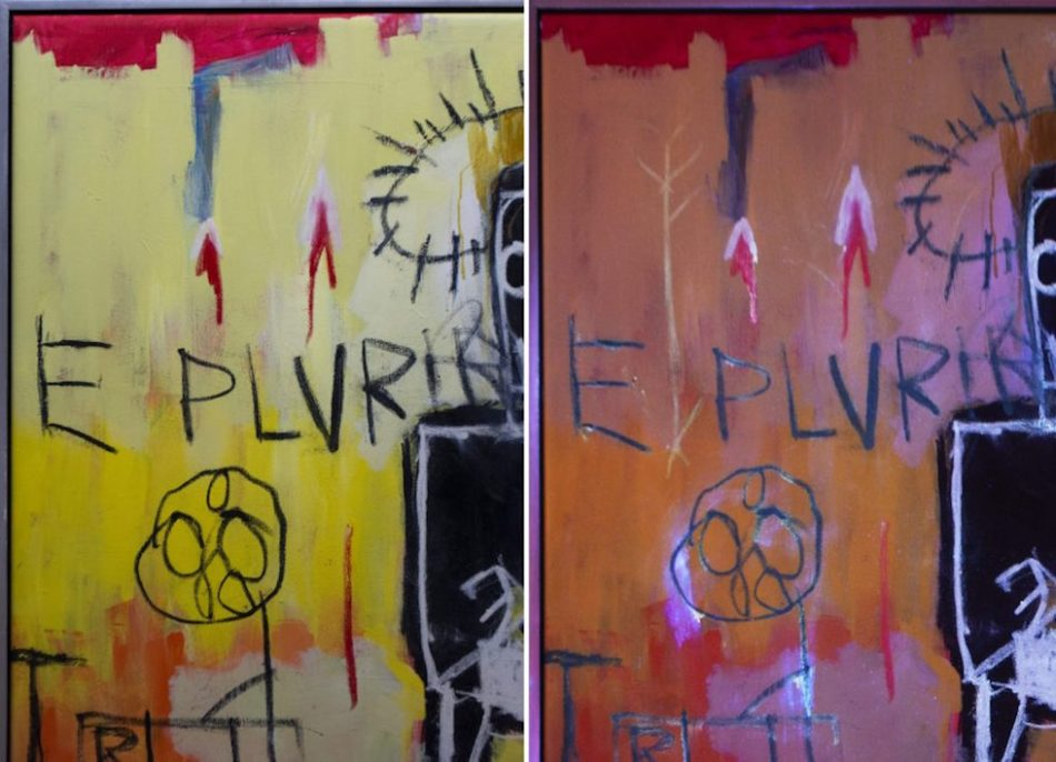Basquiat crédit Longevity Art Preservation.