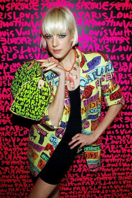 """Louis Vuitton,""""Monogramme Graffiti"""", Stephen Sprouse, ©Fashion magazine"""