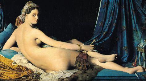 Jean-Auguste-Dominique Ingres, La Grande Odalisque, musée du Louvre,1814