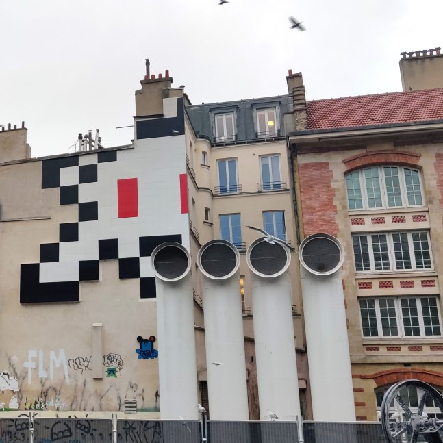 Invader, Paris, dec. 2019 ©Streep