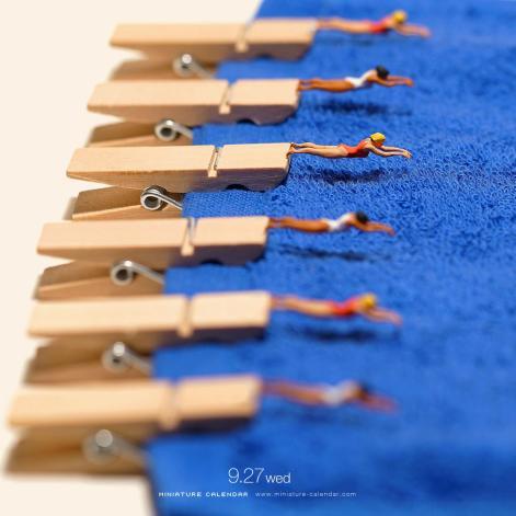 miniature-calendar-tanaka-tatsuya-014-natation