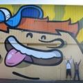 La coulure Street art