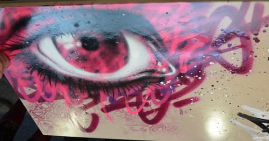 Kalouf - eye