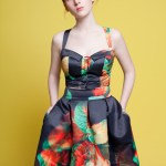 The Hellers - The Rosebud Dress - Digital Flowers