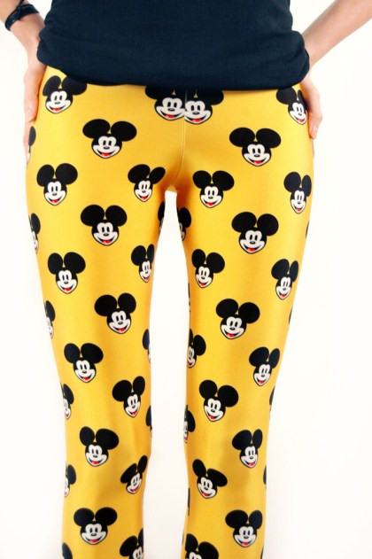 Mickey Mouse Leggings at Lovely Sally