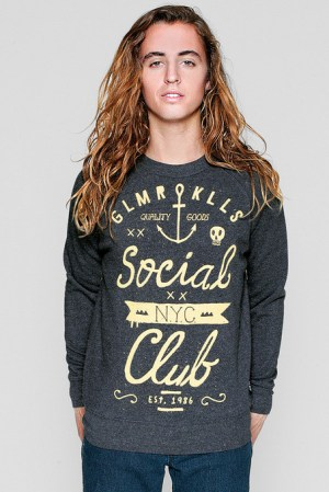 GUYS GK SOCIAL CLUB SWEATSHIRT