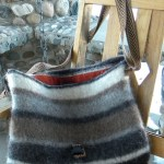 Faroese Eco Felted Wool Laptop Tote