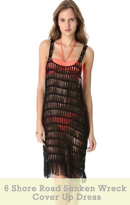 6 Shore Road Sunken Wreck Cover Up Dress