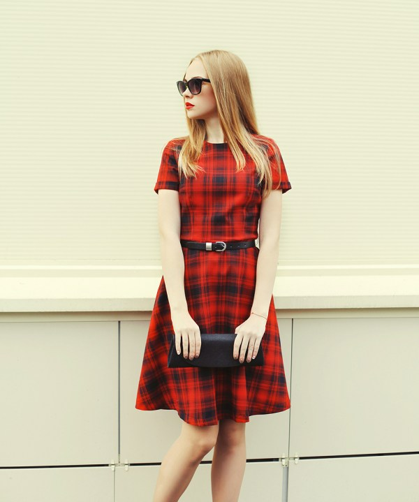 plaid-dress