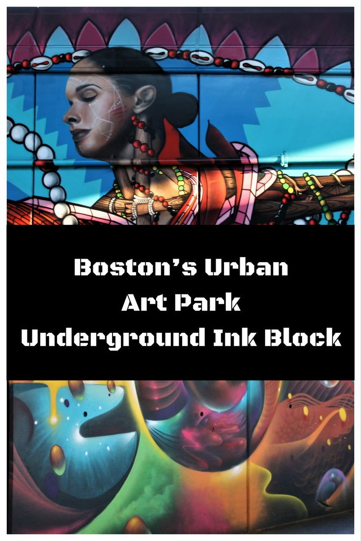 Boston's Urban Art Park - Underground Ink Block