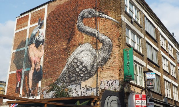 Introduction to the World of East London Street SmARTS: Street Art