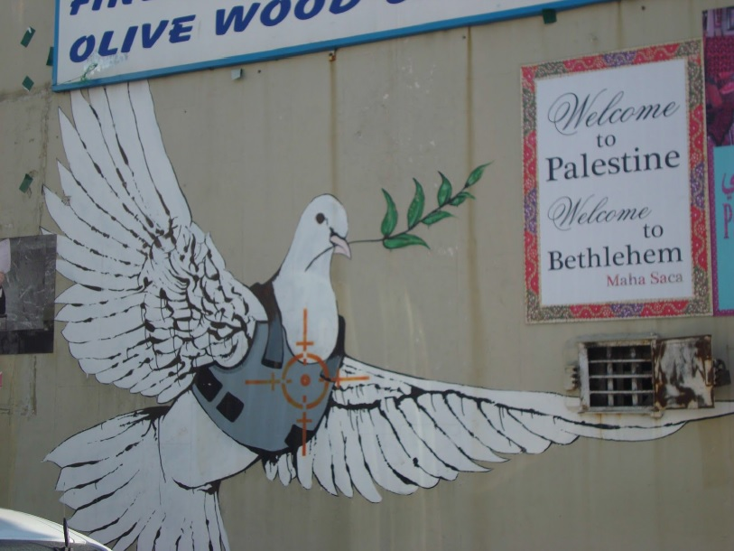 Pilgrimage to the Street Art of Bethlehem