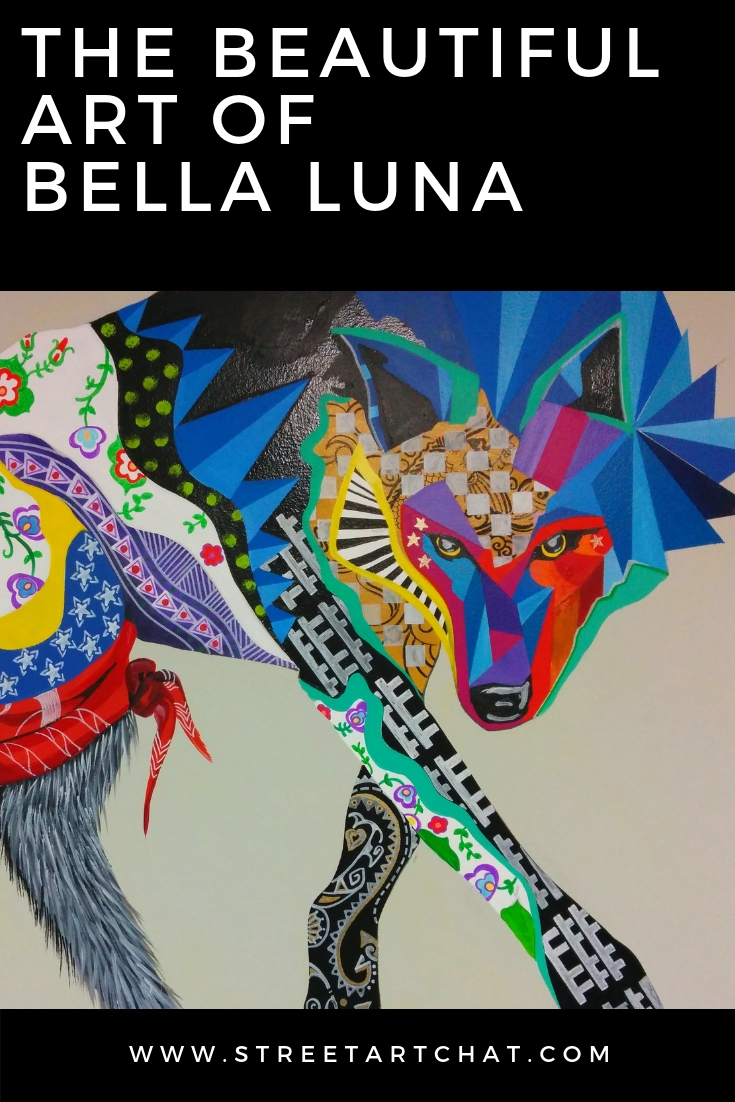 The art of Bella Luna StreetArtChat Interview