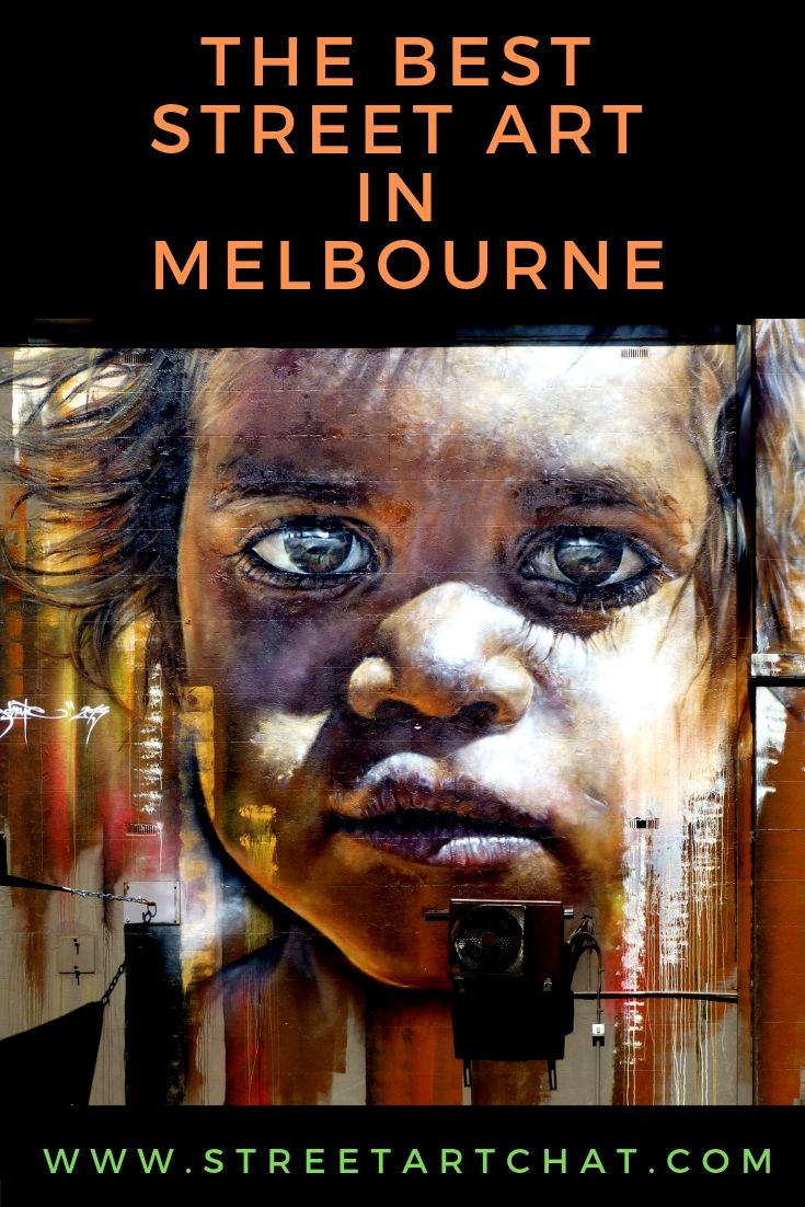 The Best Street Art in Melbourne Australia