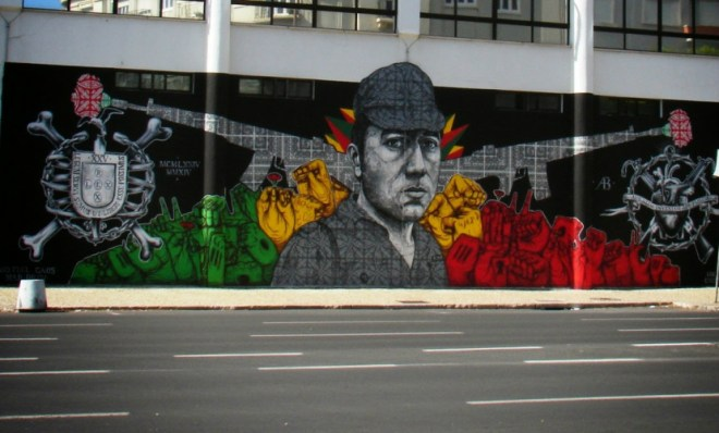 street art lisbona rivoluzione