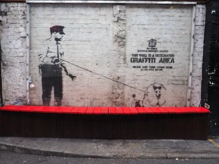 """Banksy 51°31'35"""" N 0°4'45"""" W"""