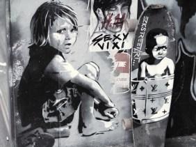 EZK hat zwei Kinder gemalt