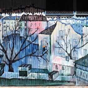 Landschaft wie bei Klee, Macke oder Marc