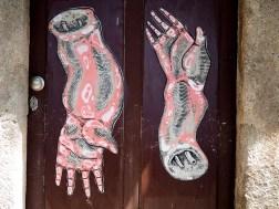 zwei Arme