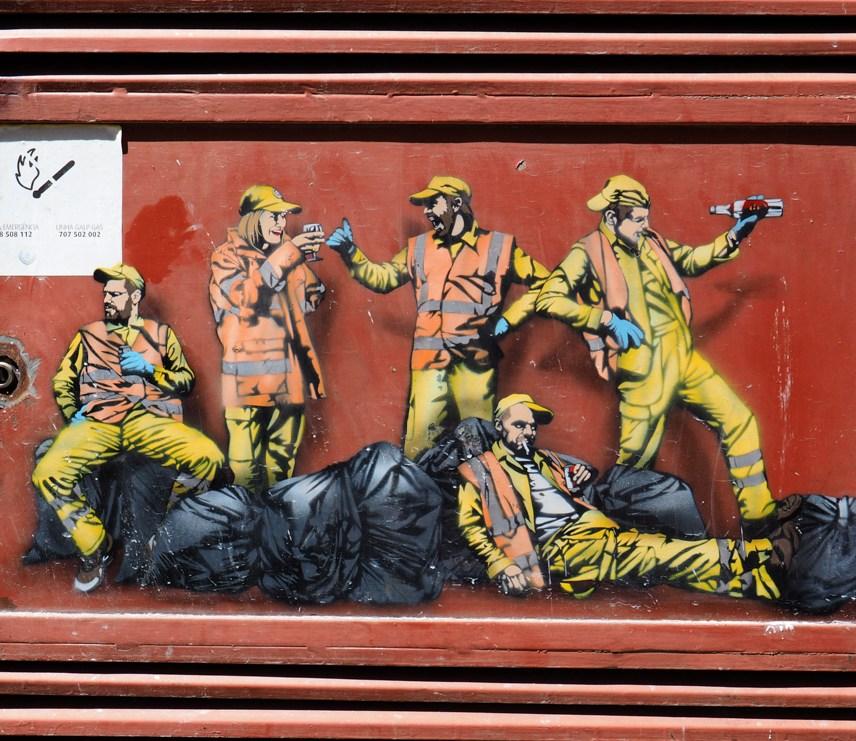 MüllarbeiterInnen