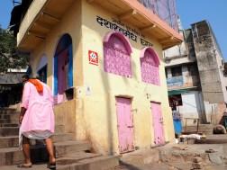 Invader am Main Ghat