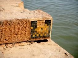 Invader am Gangesufer