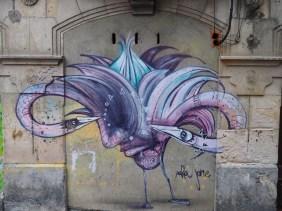 Vogel mit Köpfen