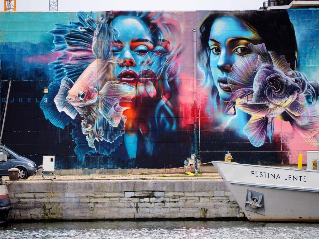 Tizarte 3 D mit Schiffen