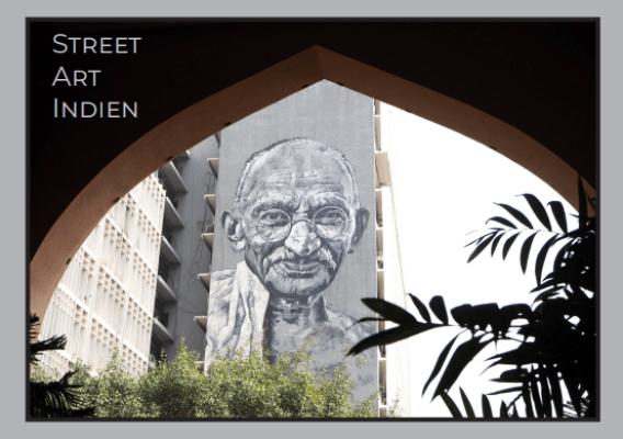 Street Art Buch über Indien