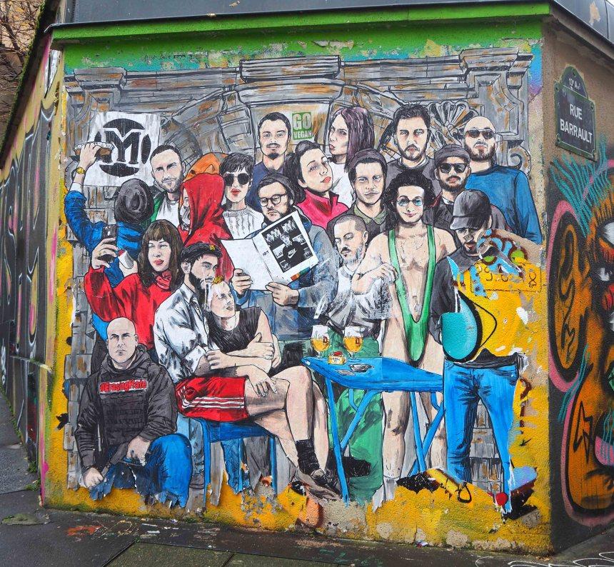 Portrait wichtiger französicher KünstlerInnen