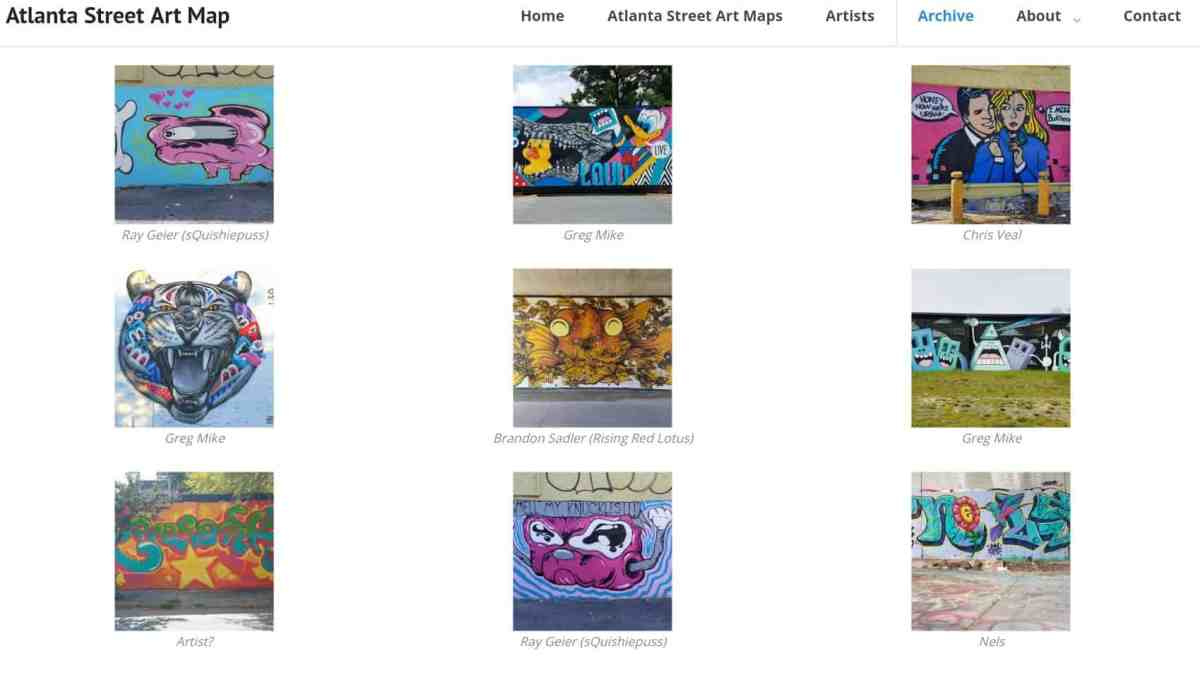 Image of the Archive page