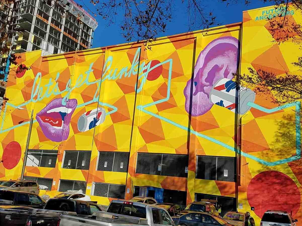 Mural by Future Ancestors in Midtown