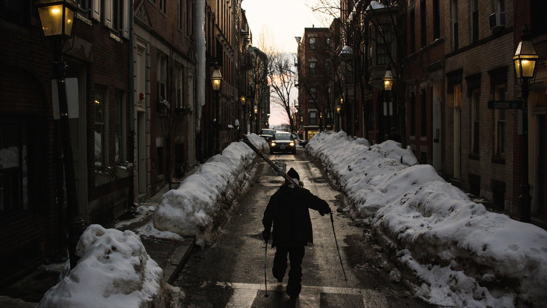Video: Skiers Turn Boston Streets Into Playground