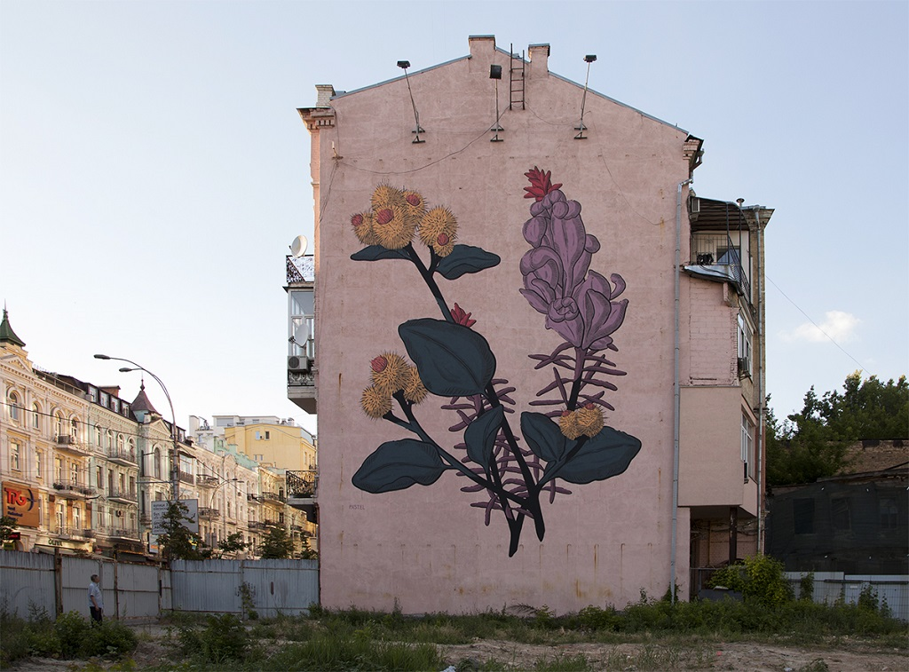 PASTEL for ArtUnitedUs - In Kiev