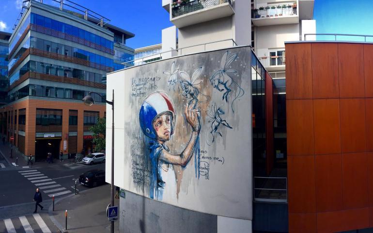 HERAKUT in Paris