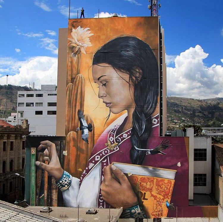 Mantra in Ambato, Ecuador