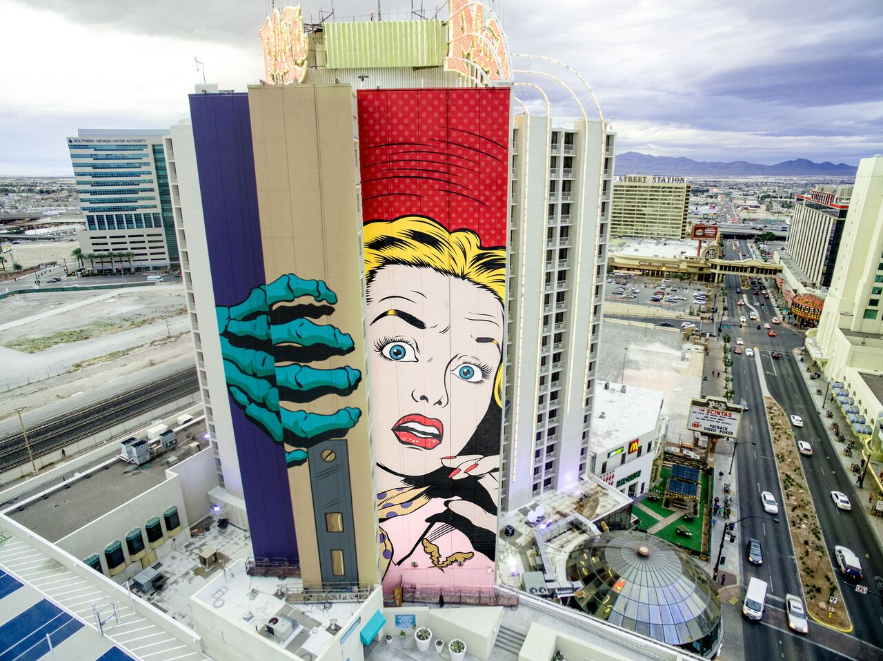 Face in Las Vegas