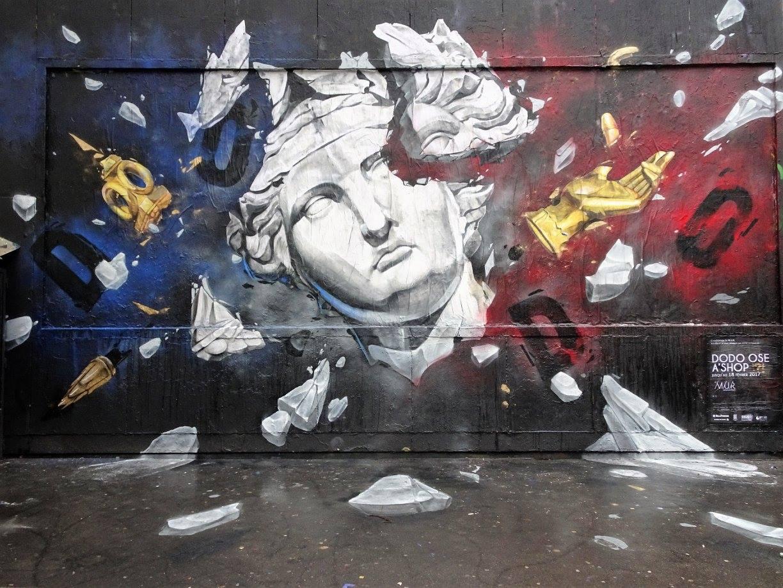 Le Mur Oberkampf by Dodo Ose