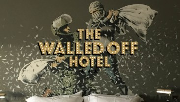 "Banksy's ""Walled Off Hotel"" in Bethlehem"