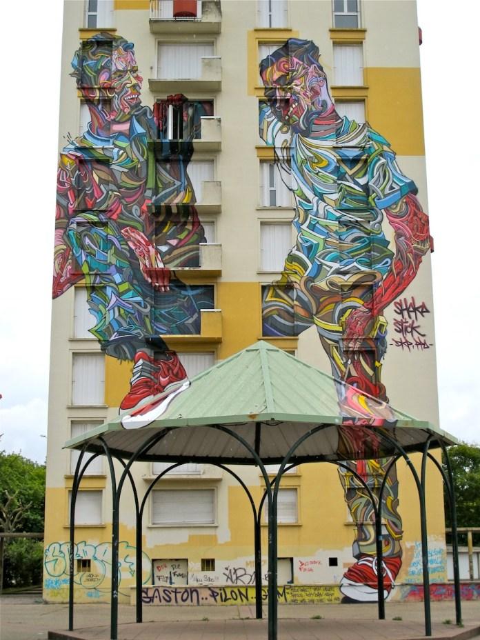 Street Art by Shaka in Melun, France 1
