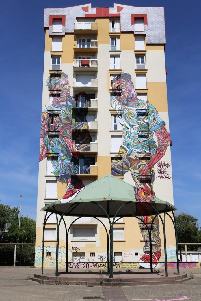 Street Art by Shaka in Melun, France 2