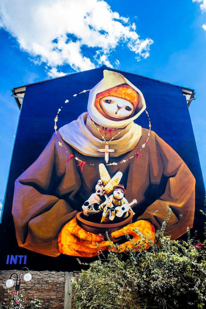 Street Art by Inti at BAU13
